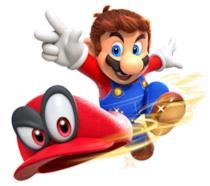 Un'immagine promozionale di Super Mario Odyssey