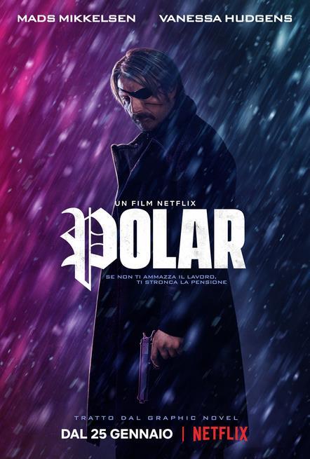 Il poster italiano di Polar