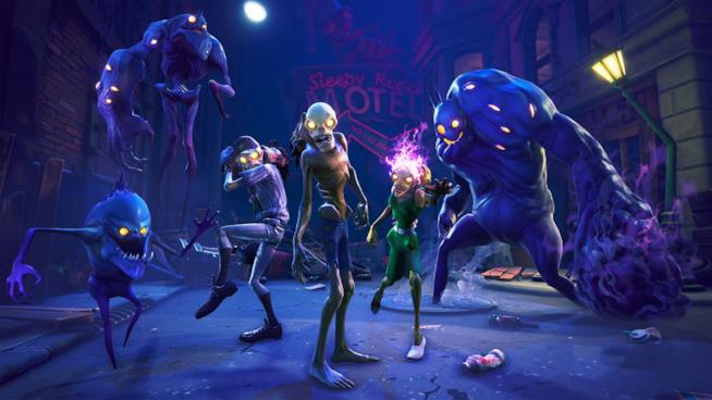 Gli zombie che infestano Fortnite
