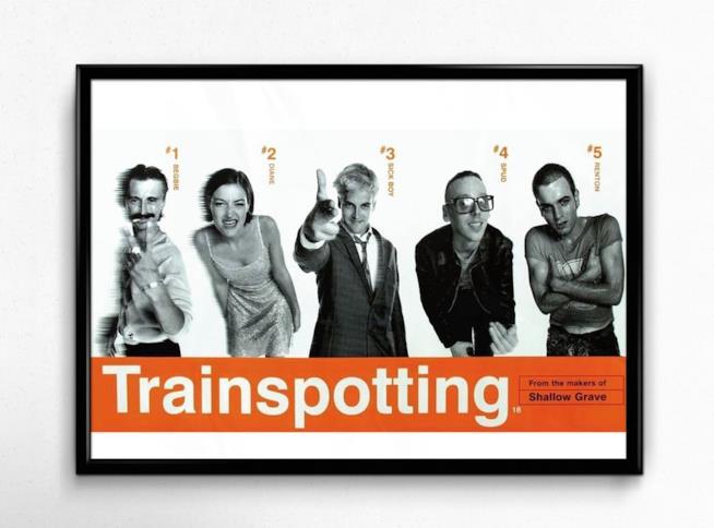 Trainspotting 2 foto in bianco in e nero degli attori protagonisti del film