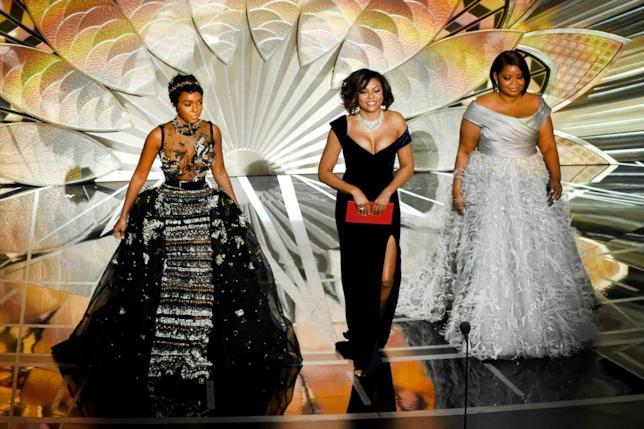 Taraji P. Henson, Octavia Spencer e Janelle Monáe, Oscar 2017