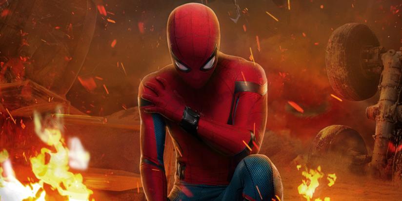 L'Uomo Ragno nel poster cinese di Spider-Man: Homecoming
