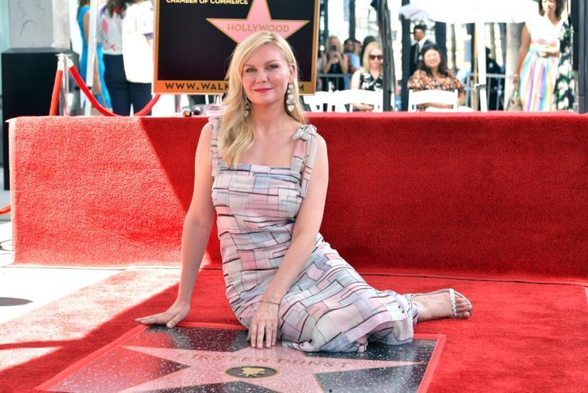 Un'immagine di Kirsten Dunst sulla Walk of Fame