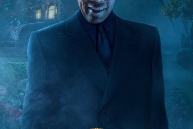 Samuel L Jackson nel character poster di Miss Peregrine