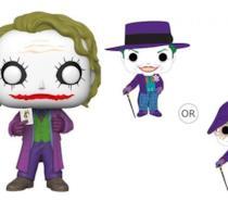 Un'immagine dei nuovi Funko Pop! dedicati al Joker