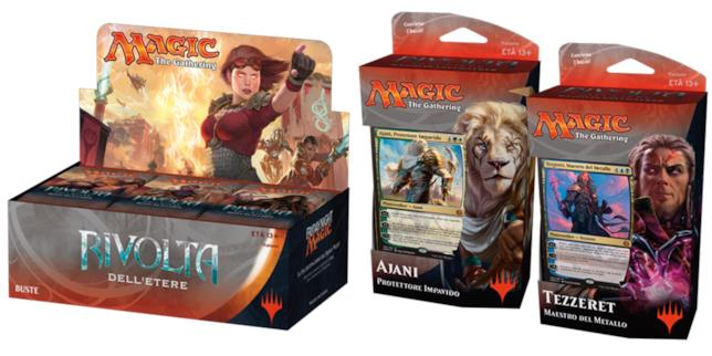 La nuova espansione di Magic: The Gathering Rivolta dell'Etere