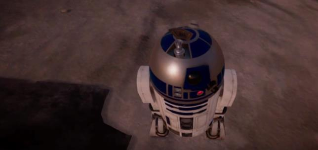 La Spada laser e D2-R2