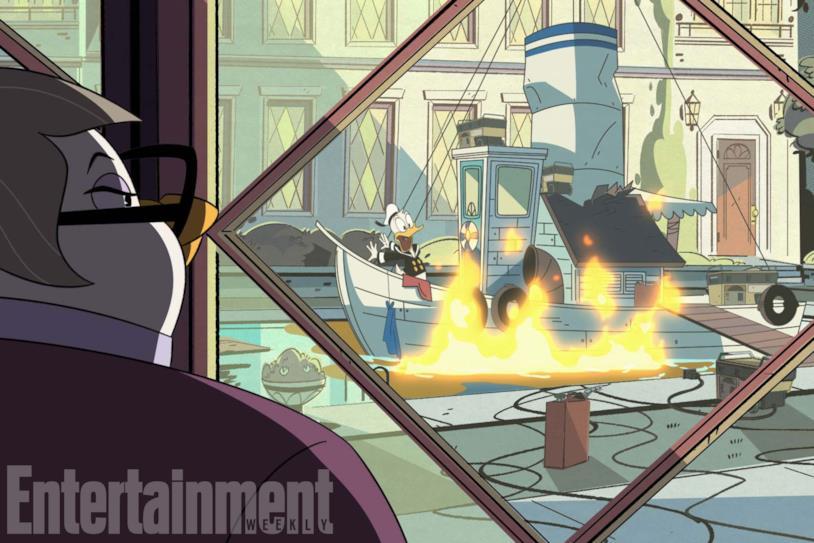 Il reboot di DuckTales e le nuove immagini di Paperino