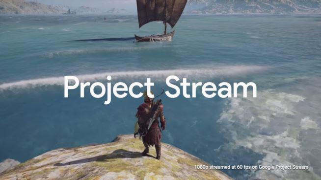 Immagine promozionale per Google Project Stream