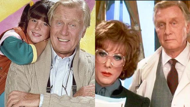 George Gaynes in Punky Brewster e nel flm Tootsie