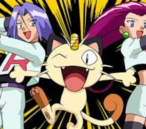 James, Meowth e James: i membri del Team Rocket
