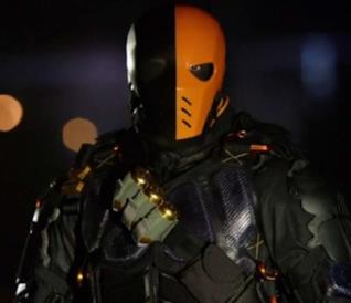 Deathstroke sul set di Arrow