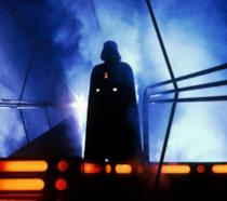 Darth Vader avvolto dal fumo