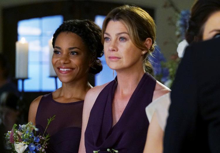 Ellen Pompeo e Kelly McCreary in Grey's Anatomy 12