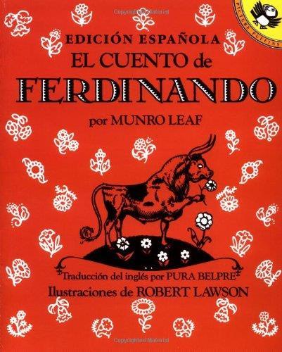 Copertina della storia del toro ferdinando in spagnolo