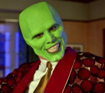 Jim Carrey in una scena del film The Mask