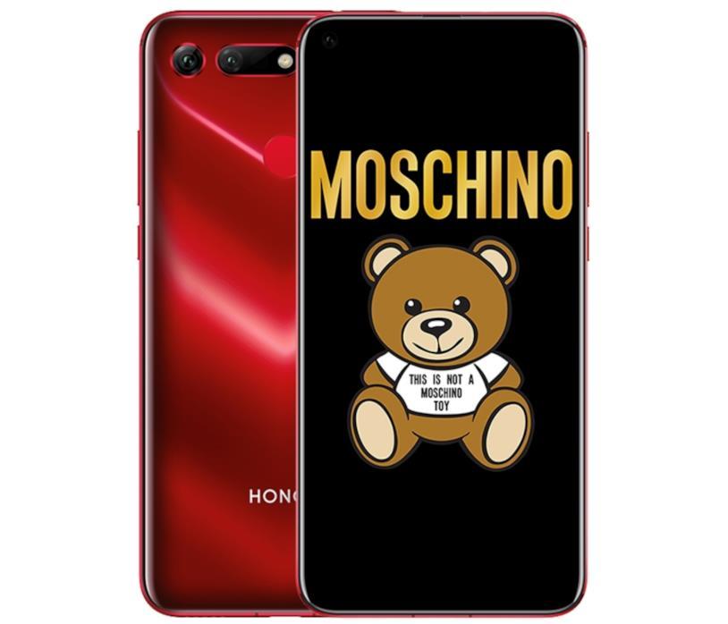 Immagine promozionale di Honor View20 nella variante Moschino