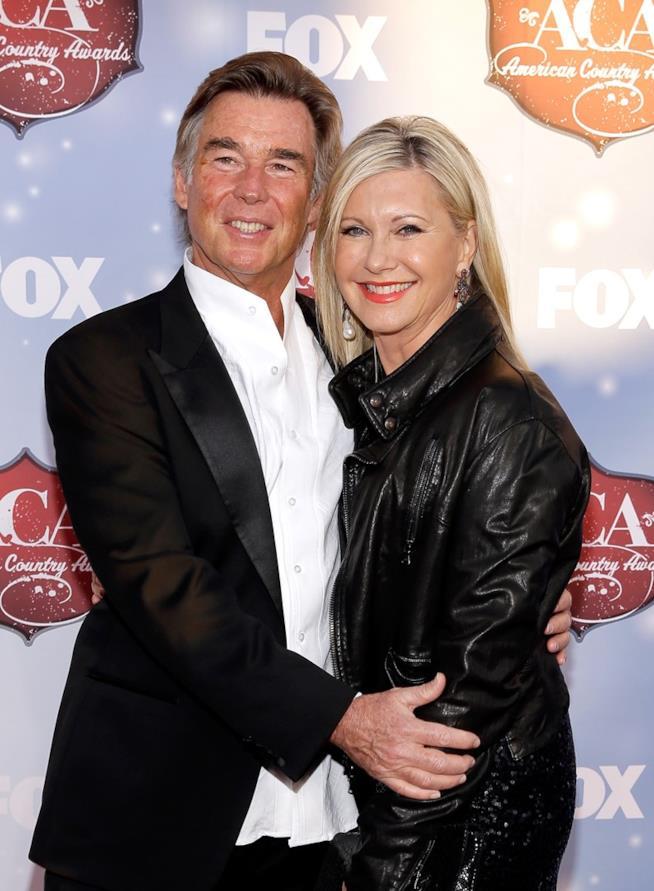 Olivia Newton-John e il marito John Easterling