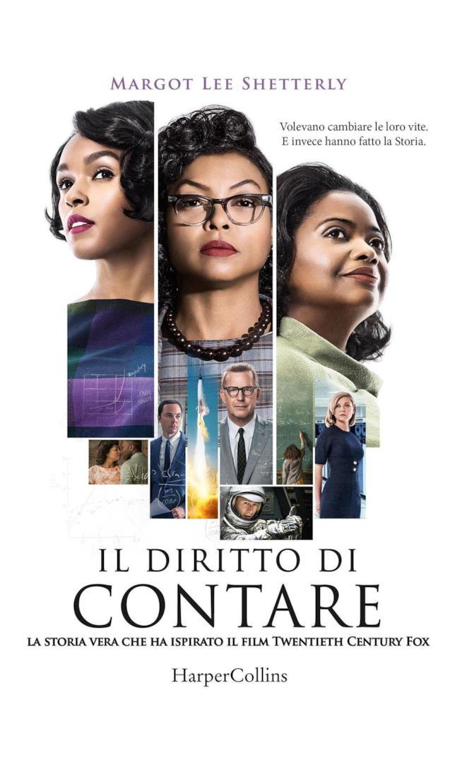 La copertina della versione italiana del libro Il diritto di contare
