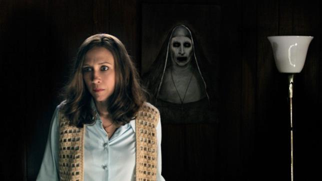 Una scena di The Conjuring - Il caso Enfield