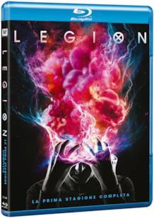 Il Blu-ray con la prima stagione di Legion