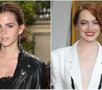 Collage tra Emma Watson ed Emma Stone