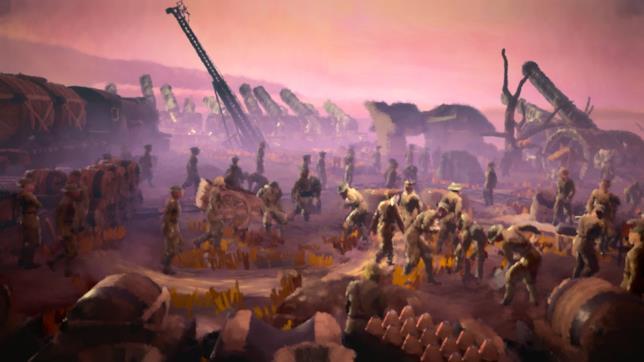 Un'immagine di gioco da 11-11: Memories Retold