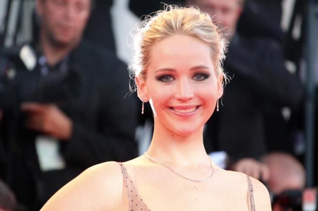 Jennifer Lawrence a Venezia 74