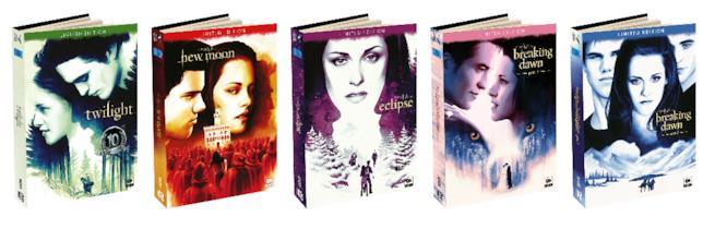 Collezione di Digibook Twilight