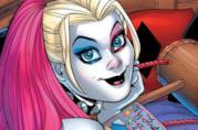 Harley Quinn in un'immagine dal fumetto Batman: Harley Quinn e Le Sirene di Gotham City