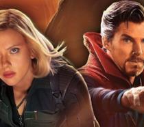 Vedova Nera e Doctor Strange, protagonisti anche della Fase 4