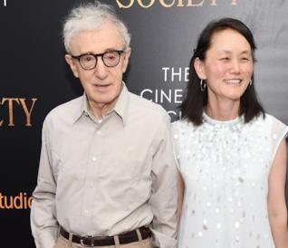 Soon-Yi e Woody Allen alla prima di Café Society