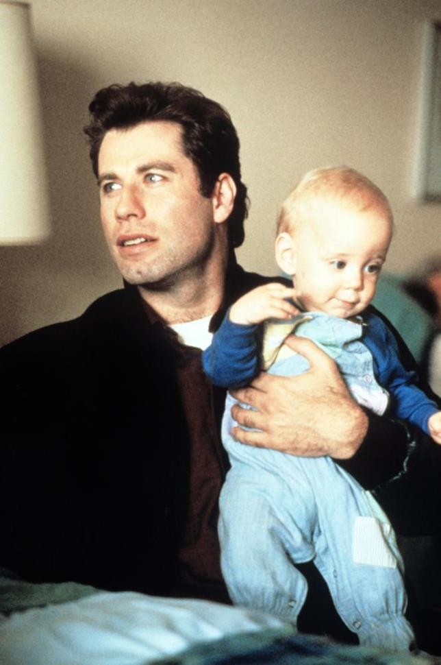 John Travolta in Senti chi parla