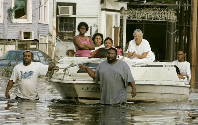 Un'immagine di Katrina