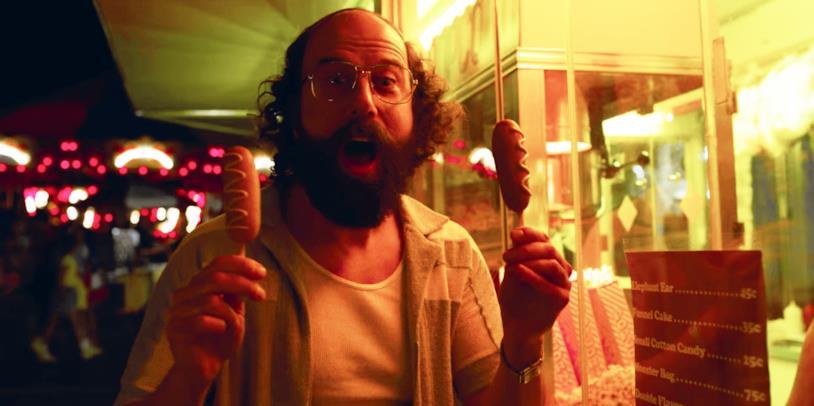 Murray al Luna Park, in una scena della terza stagione