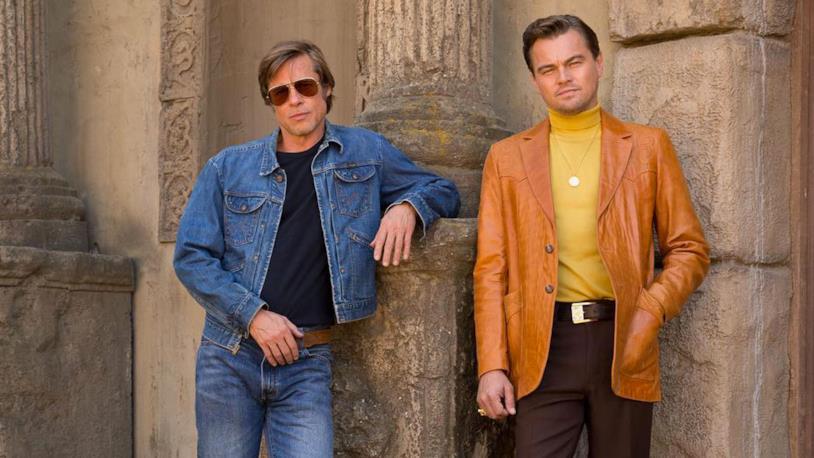 La coppia DiCaprio e Pitt, protagonista di C'era una volta a... Hollywood