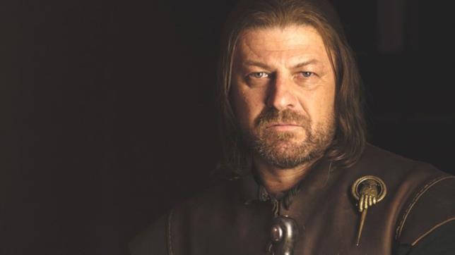 Sean Bean nei panni di Ned Stark