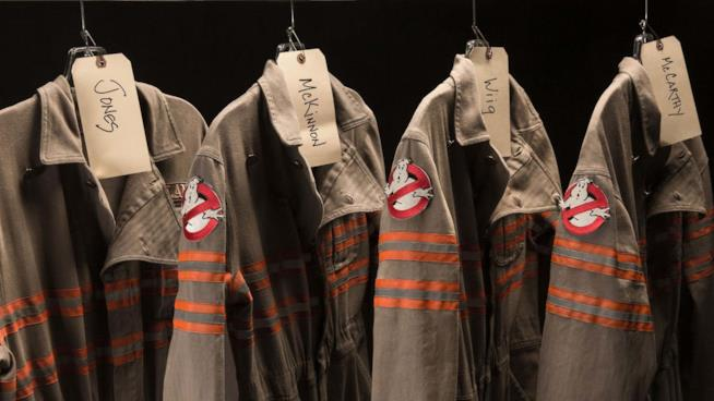 Le divise delle nuove Ghostbusters