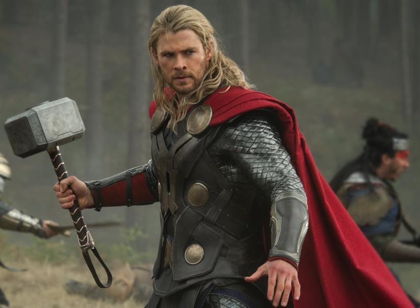Chris Hemsworth nei panni di Thor