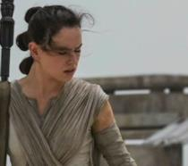 Daisy Ridley è Rey in Star Wars 7