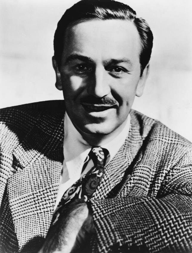 Il celebre Walt Disney