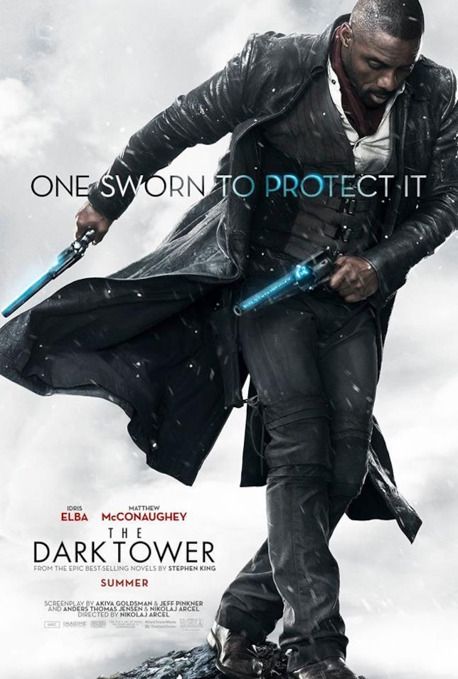 Roland Deschain nel character poster a lui dedicato de La Torre Nera