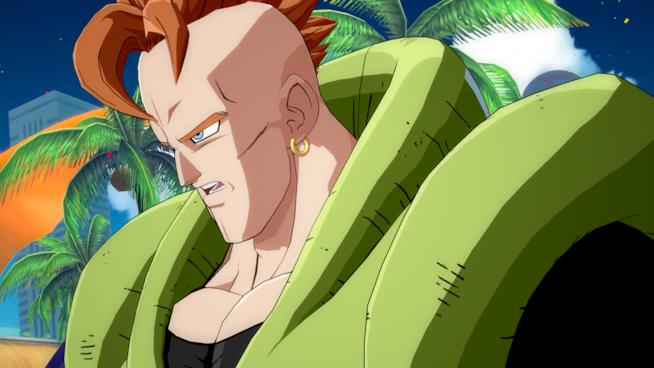C16 in Dragon Ball FighterZ