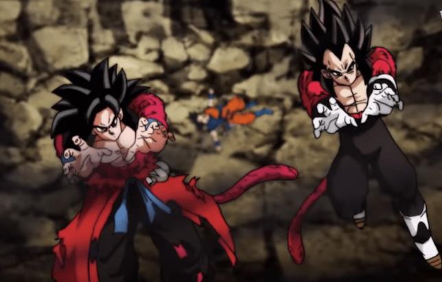 Goku e Vegeta Super Saiyan 4