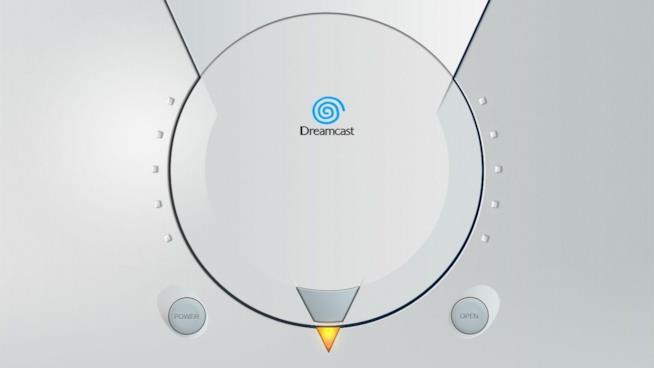 SEGA Dreamcast visto dall'alto