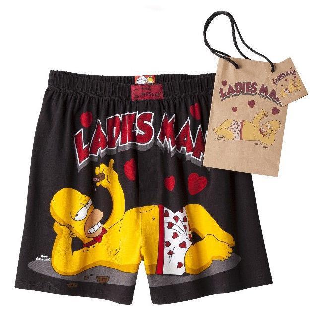 I boxer di San Valentino di Homer Simpson