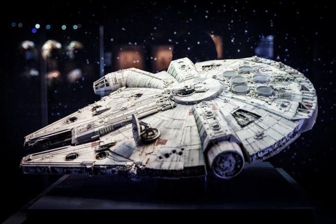 Il Millennium Falcon, l'astronave stellare di Star Wars
