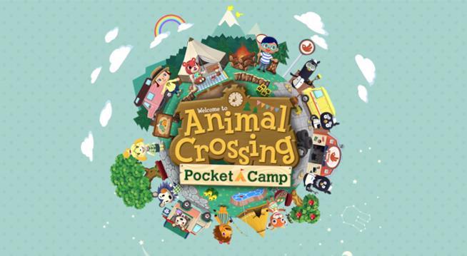 Il logo ufficiale di Animal Crossing Pocket Camp