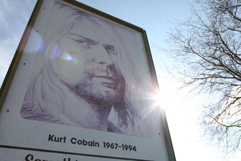Il cantante dei Nirvana, Kurt Cobain