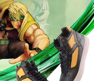 Le sneaker Diesel per i 30 anni di Street Fighter